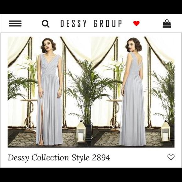 efebe277e36 dessy Dresses   Skirts - Dessy Platinum Size 8 Style 2894